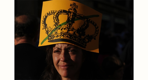 Manifestación por el referéndum sobre la monarquía. Fernando Sánchez (La Marea).