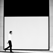The Man In Black And White small