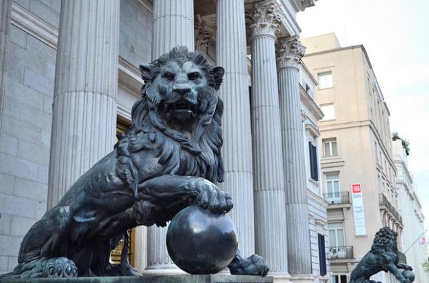 León Congreso.  imagen publicada bajo licencia Creative Commons en el Flickr del usuario alessonfire