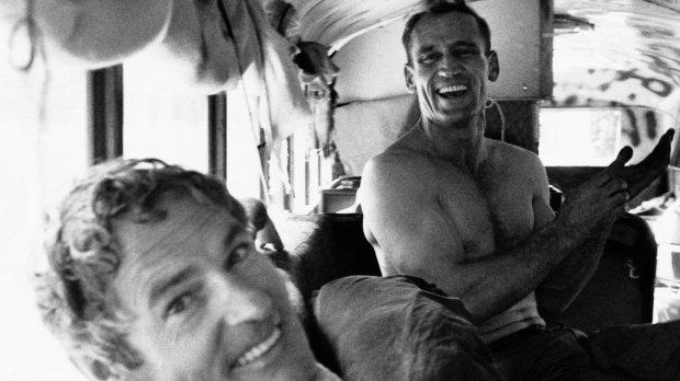 Neal Cassady y Kerouac