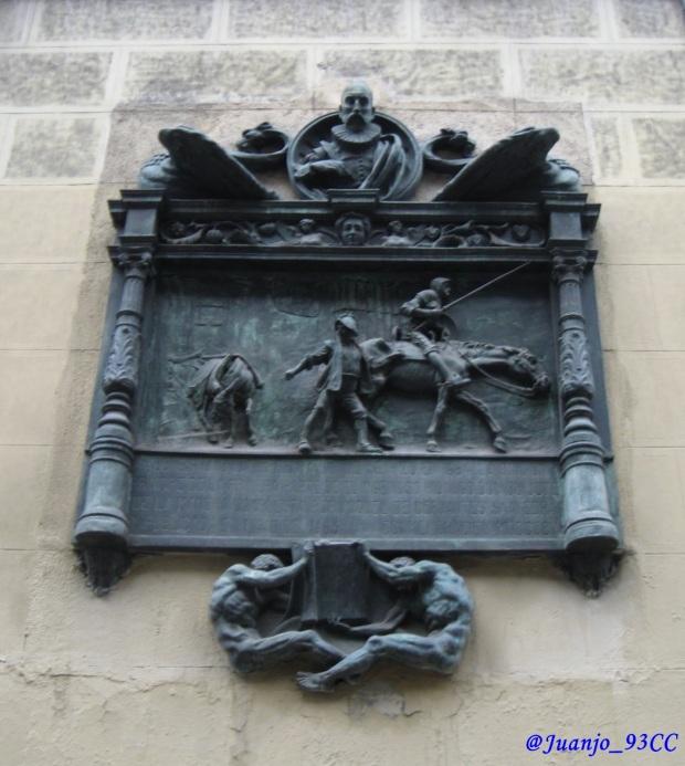 Placa conmemorativa primera impresión de El Quijote Juanjo Carrillo Córdoba