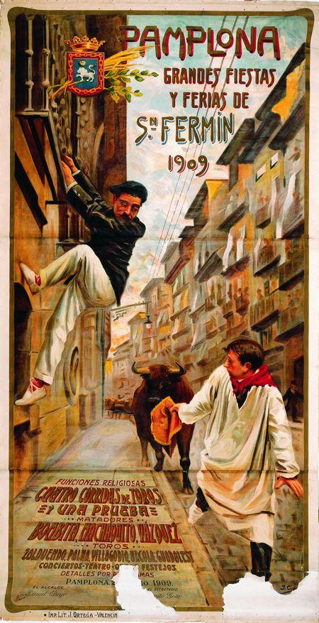 San Fermín 1909