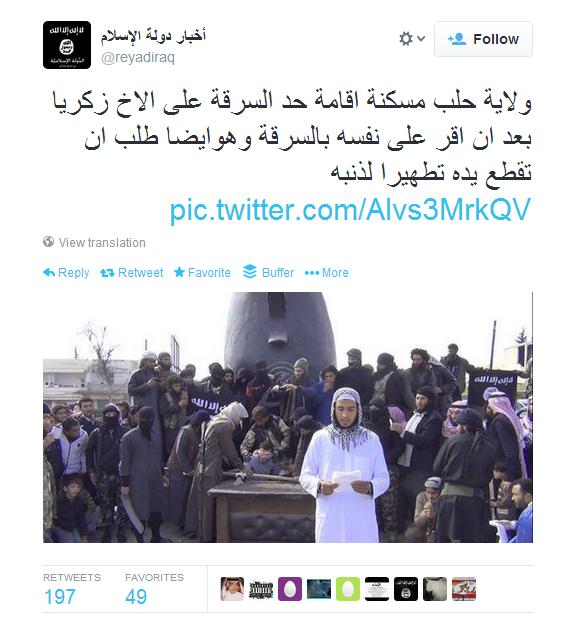 ISIS Y TWITTER